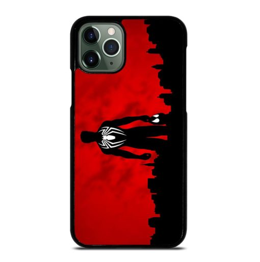 SPIDERMAN SILHOUETTES iPhone 11 Pro Max Case
