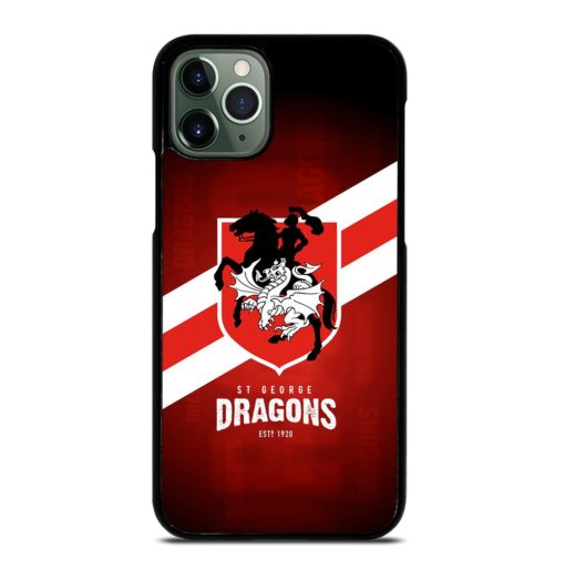 ST George Dragons iPhone 11 Pro Max Case