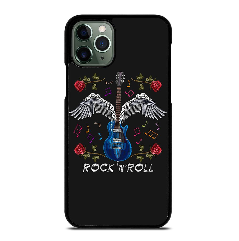 The Guitar and Roses Wings iPhone 11 Pro Max Case