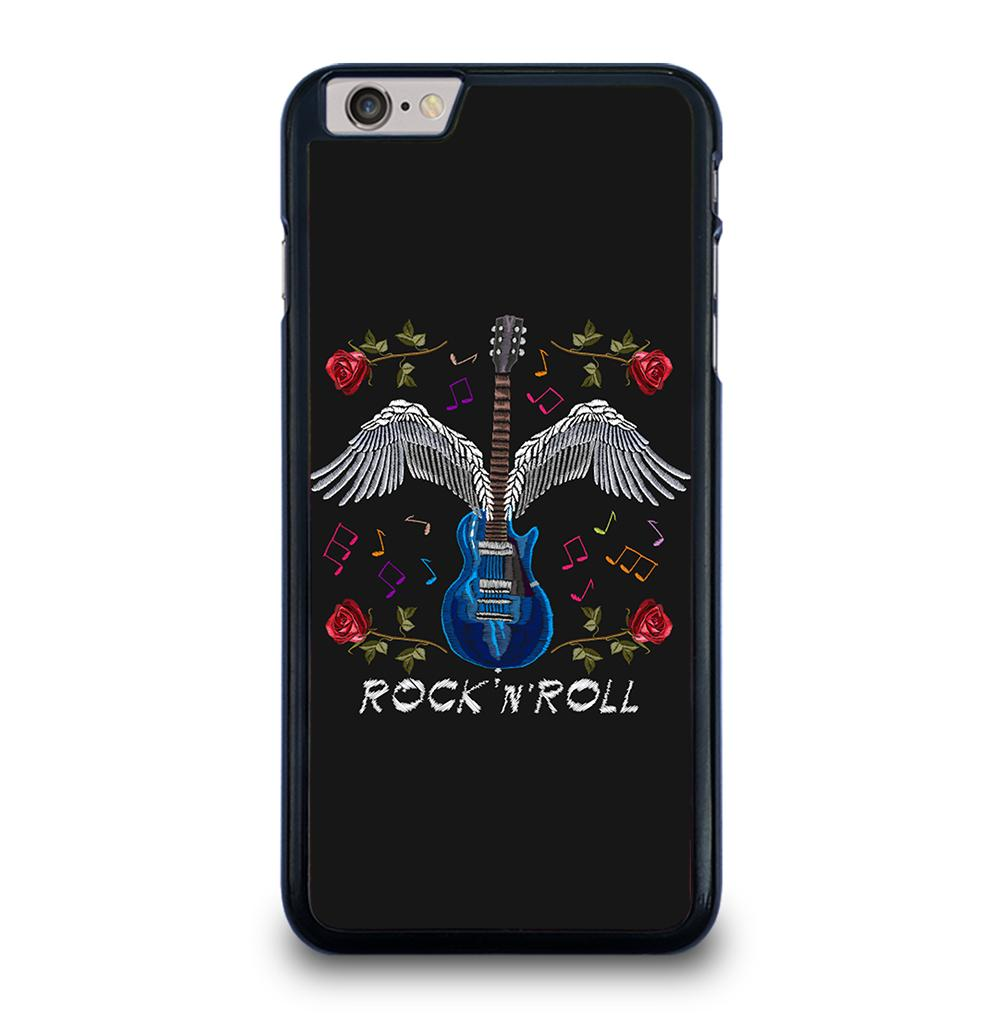 The Guitar and Roses Wings iPhone 6 / 6s Plus Case Cover