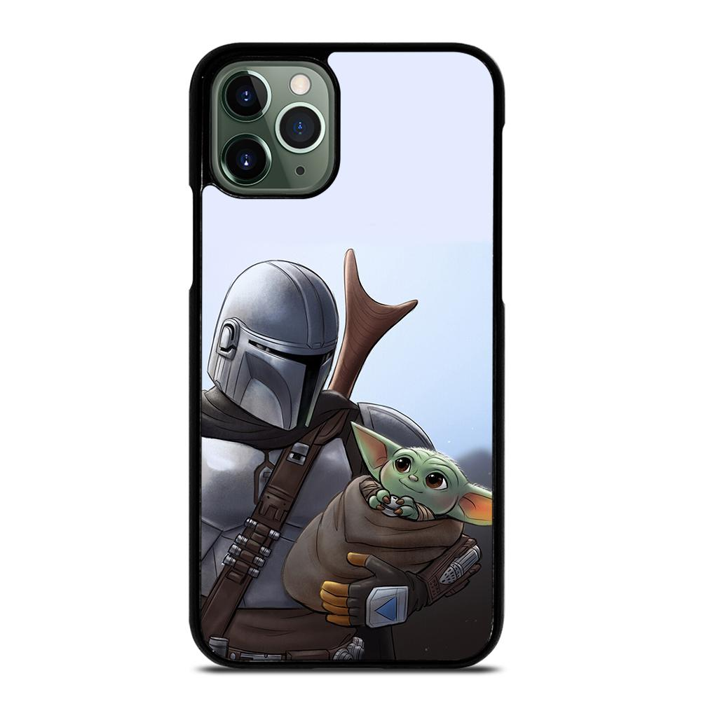 THE MANDALORIAN AND BABY YODA iPhone 11 Pro Max Case