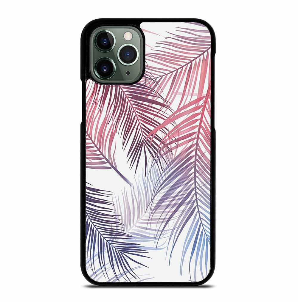 TROPICAL PALM LEAVES iPhone 11 Pro Max Case