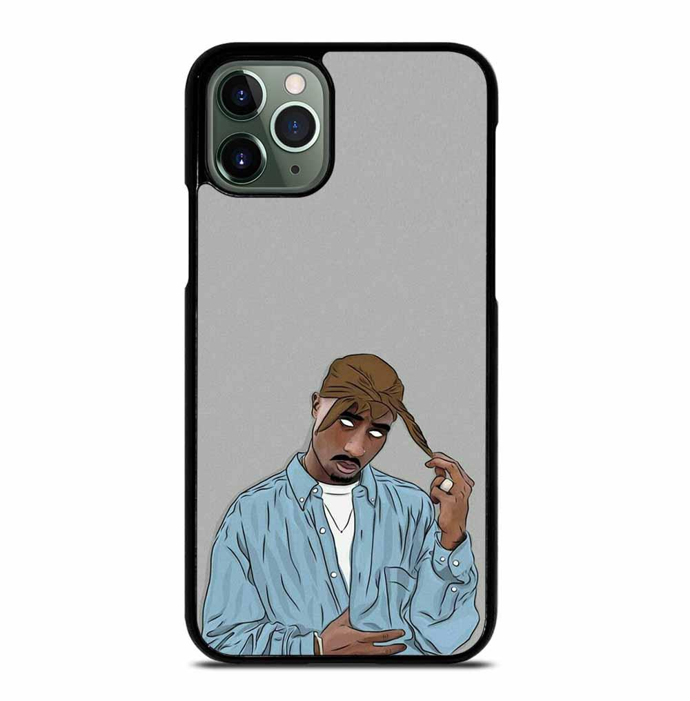 TUPAC SHAKUR RAPPER iPhone 11 Pro Max Case