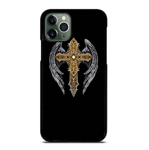 VINTAGE CROSS WINGS iPhone 11 Pro Max Case