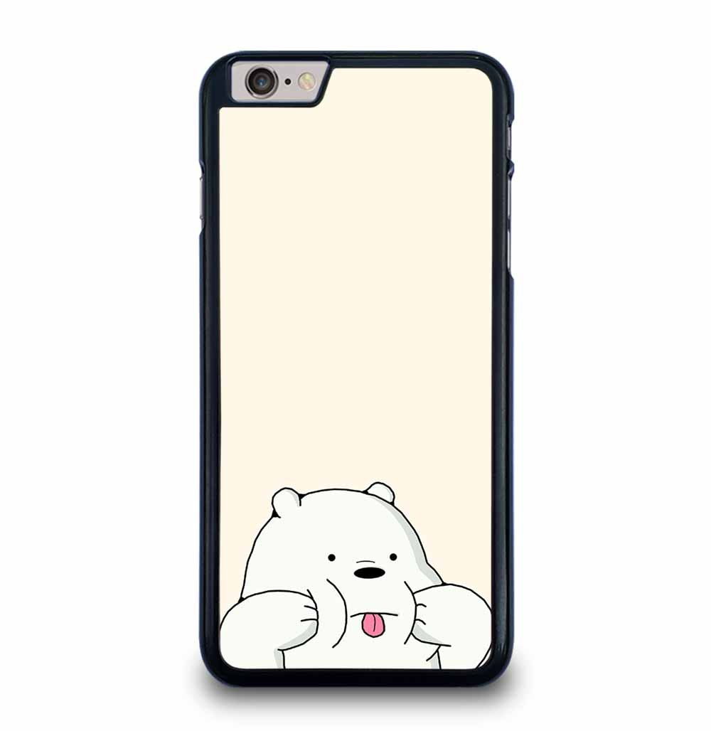 WE BARE BEARS CHARACTER iPhone 6 / 6S Plus Case