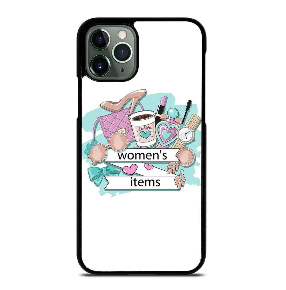 WOMEN COSMETICS ITEMS iPhone 11 Pro Max Case