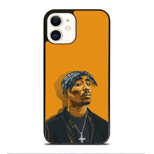 2PAC TUPAC SHAKUR HIP HOP RAP for iPhone 12 Case Cover