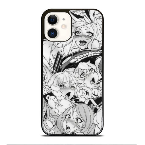 AHEGAO SEXY ANIME GIRLS for iPhone 12 Case Cover