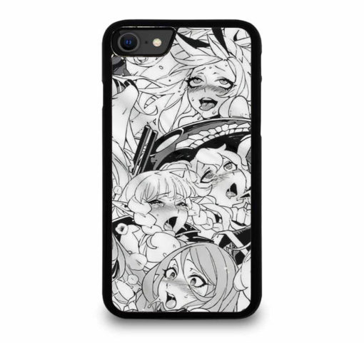 AHEGAO SEXY ANIME GIRLS for iPhone SE (2020) Case