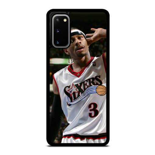 Allen Iverson Sixers NBA for Samsung Galaxy S20 Case