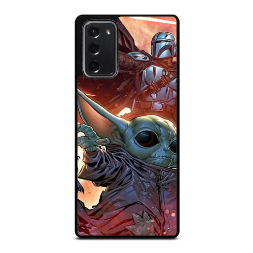 BABY YODA AND THE MANDALORIAN for Samsung Galaxy Note 20 Case