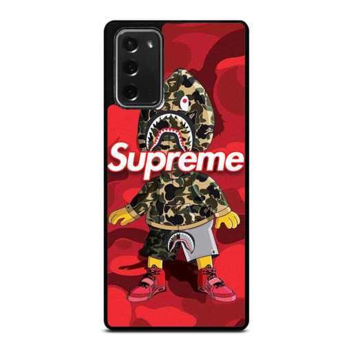 BAPE CAMO SUPREME for Samsung Galaxy Note 20 Case Cover