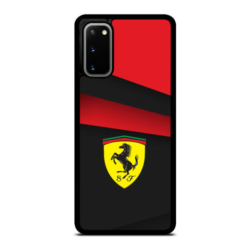 BLACK AND RED FERRARI for Samsung Galaxy S20 Case Cover