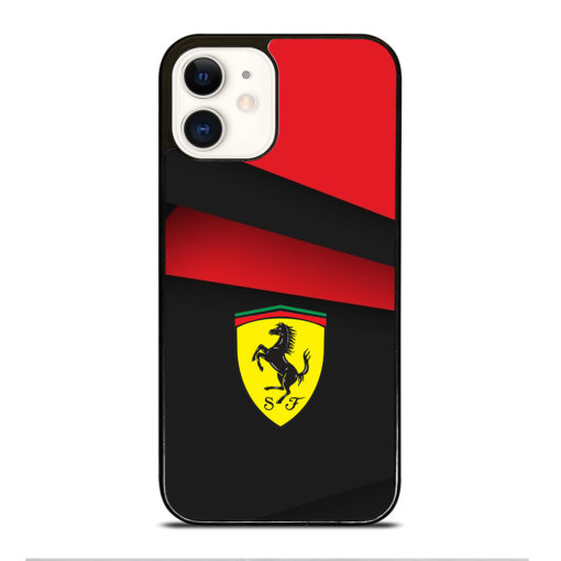 BLACK AND RED FERRARI for iPhone 12 Case