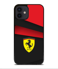 BLACK AND RED FERRARI for iPhone 12 Mini Case