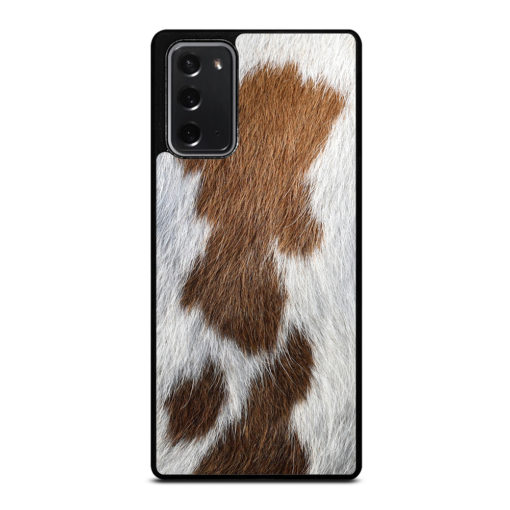 BROWN COWHIDE TEXTURE for Samsung Galaxy Note 20 Case