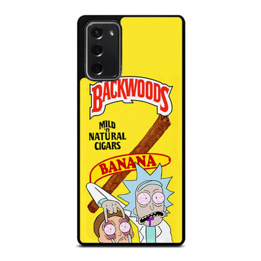Backwoods Rick And Morty for Samsung Galaxy Note 20 Case Cover