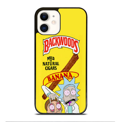 Backwoods Rick And Morty for iPhone 12 Case Cover