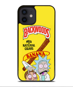 Backwoods Rick And Morty for iPhone 12 Mini Case Cover