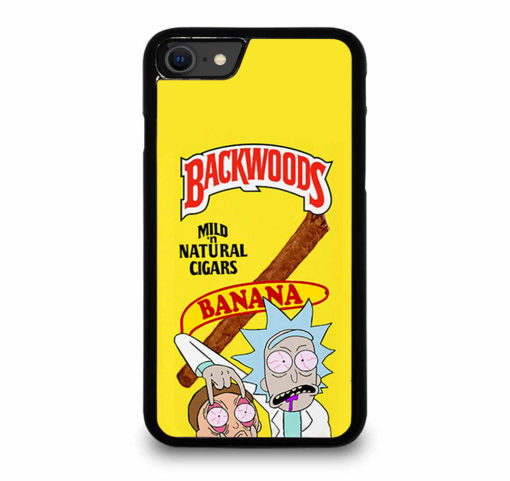 Backwoods Rick And Morty for iPhone SE (2020) Case Cover