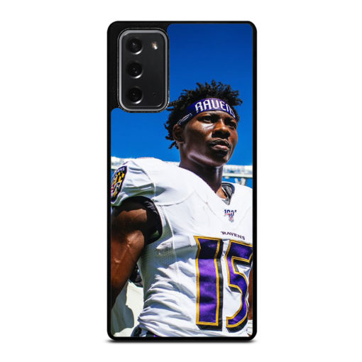Baltimore Ravens Hollywood Brown for Samsung Galaxy Note 20 Case