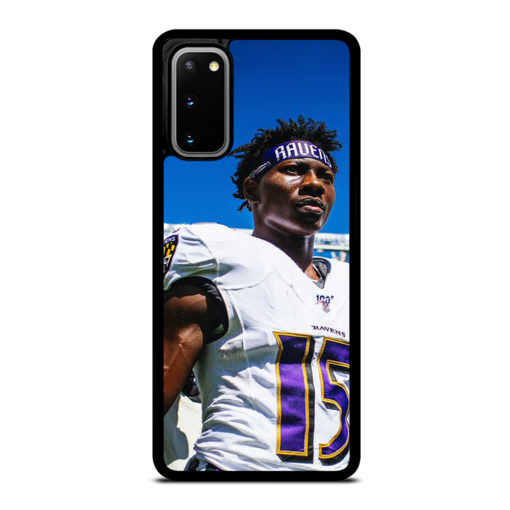 Baltimore Ravens Hollywood Brown for Samsung Galaxy S20 Case Cover