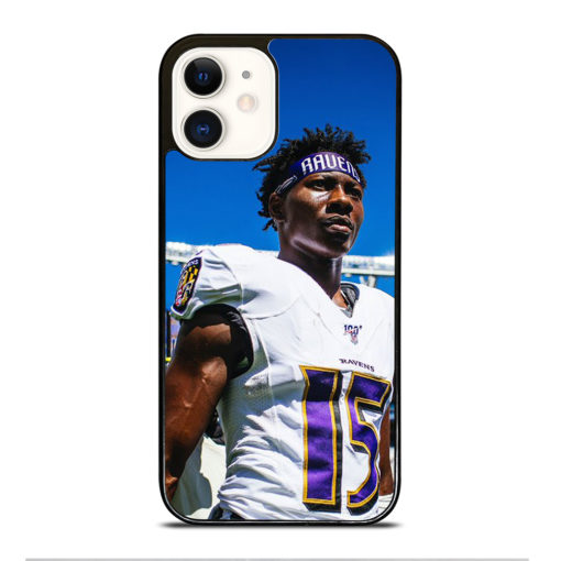 Baltimore Ravens Hollywood Brown for iPhone 12 Case Cover