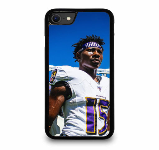 Baltimore Ravens Hollywood Brown for iPhone SE (2020) Case Cover