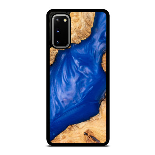 CASTING EPOXY RESIN BURL WOOD for Samsung Galaxy S20 Case Cover