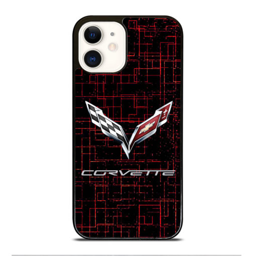 CORVETTE CYBER LOGO for iPhone 12 Case Cover