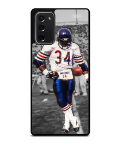 Chicago Bears Walter Payton 34 for Samsung Galaxy Note 20 Case