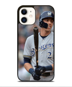 Christian Yelich Milwaukee Brewers for iPhone 12 Case Cover