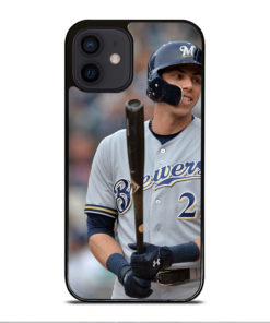 Christian Yelich Milwaukee Brewers for iPhone 12 Mini Case Cover