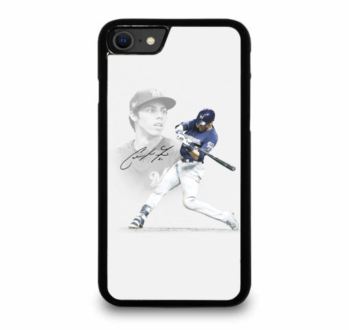 Christian Yelich Signature for iPhone SE (2020) Case