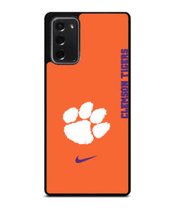 Clemson Tigers Football for Samsung Galaxy Note 20 Case Cover
