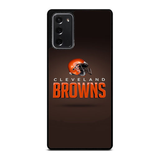 Cleveland Browns NFL for Samsung Galaxy Note 20 Case