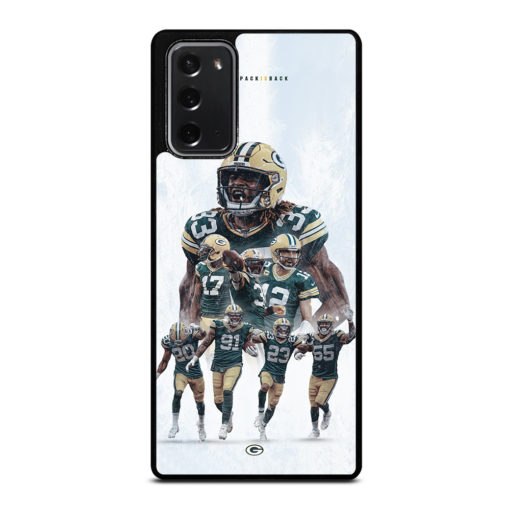 Green Bay Packers Roster for Samsung Galaxy Note 20 Case Cover