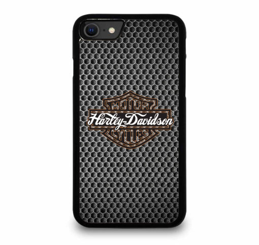 HARLEY DAVIDSON CYCLES LOGO for iPhone SE (2020) Case