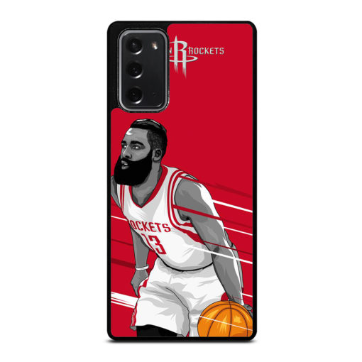 Houston Rockets James Harden for Samsung Galaxy Note 20 Case Cover