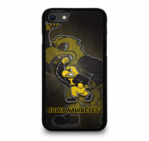 Iowa Hawkeyes Football for iPhone SE (2020) Case Cover