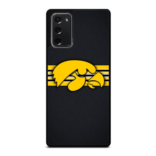 Iowa Hawkeyes for Samsung Galaxy Note 20 Case Cover