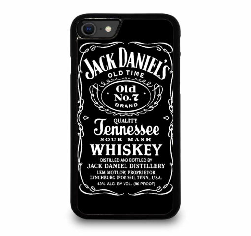 JACK DANIELS for iPhone SE (2020) Case Cover