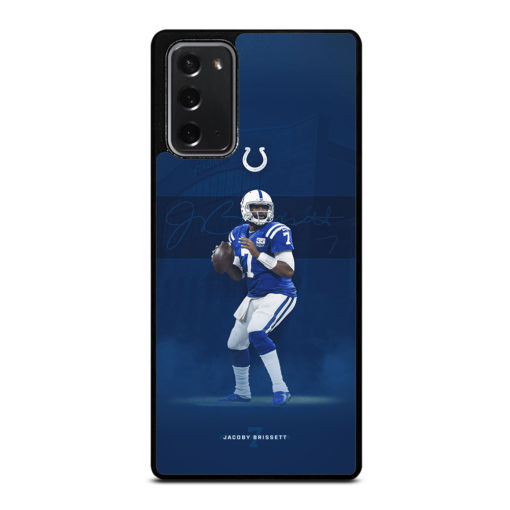 JACOBY BRISSETT INDIANAPOLIS COLTS for Samsung Galaxy Note 20 Case Cover