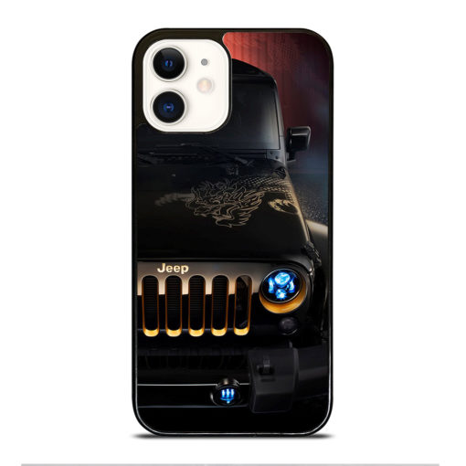 JEEP WRANGLER DRAGON EDITION for iPhone 12 Case Cover
