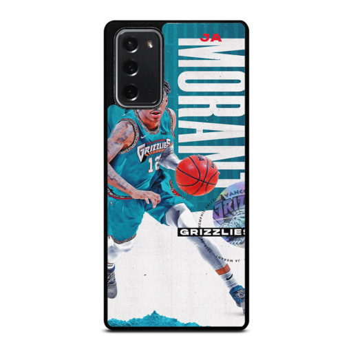 Ja Morant Grizzlies NBA for Samsung Galaxy Note 20 Case