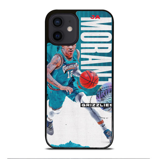 Ja Morant Grizzlies NBA for iPhone 12 Mini Case Cover