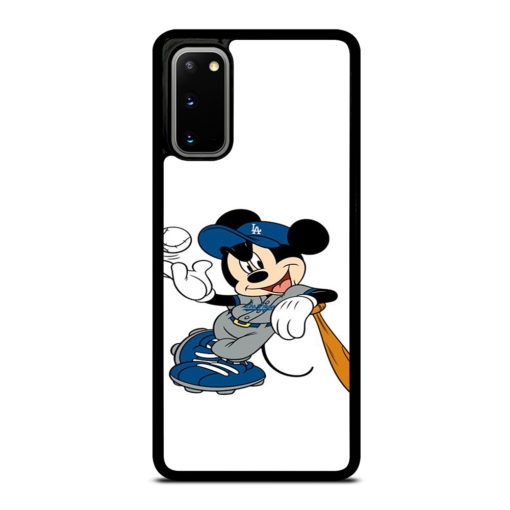 LA DODGERS MICKEY MOUSE for Samsung Galaxy S20 Case Cover