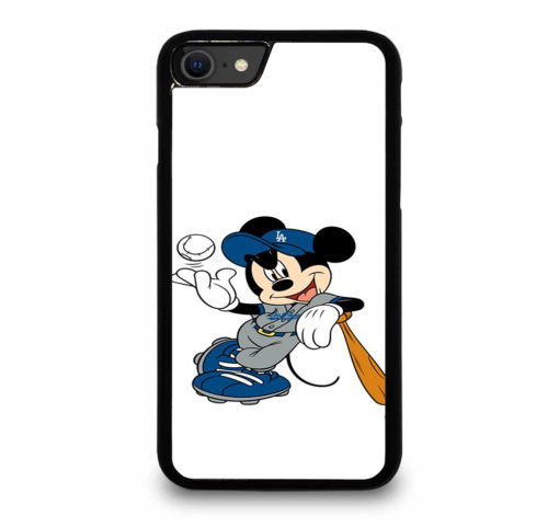 LA DODGERS MICKEY MOUSE for iPhone SE (2020) Case Cover