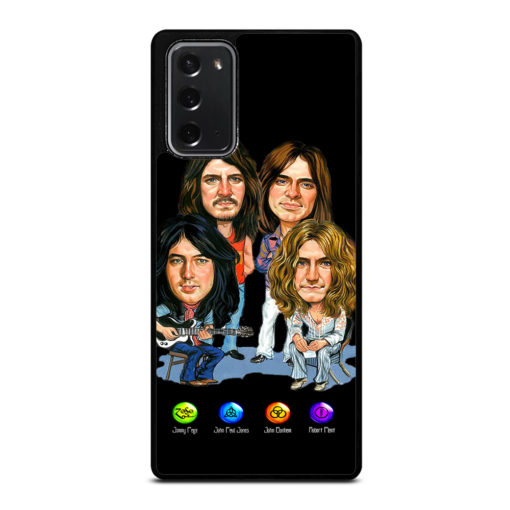 LED ZEPPELIN ZOSO SYMBOLS for Samsung Galaxy Note 20 Case Cover