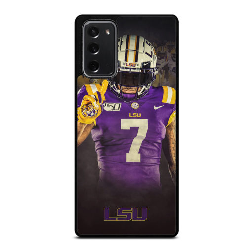 LSU Tigers Football Logo for Samsung Galaxy Note 20 Case